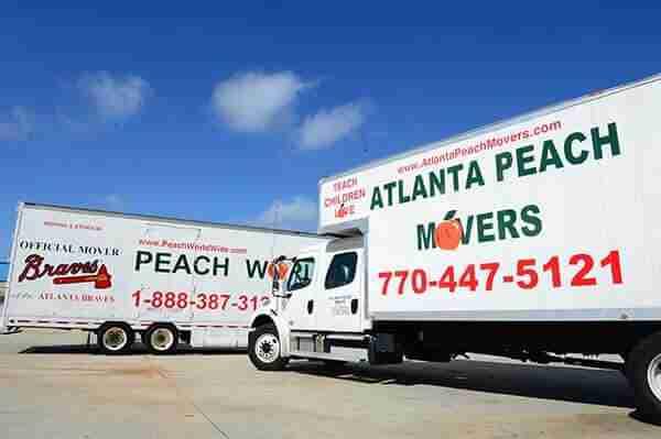 1a49b6ea0cee Moving Vans Atlanta  38 Truck Rental Fleet  including Tractor Trailers