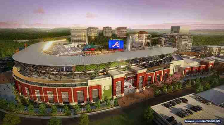 The Atlanta Braves Said Goodbye To Turner Field At End Of 2016 Season Ending Stadiums 20 Run Announced They Would Open