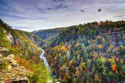 Tallulah Gorge in Georgia